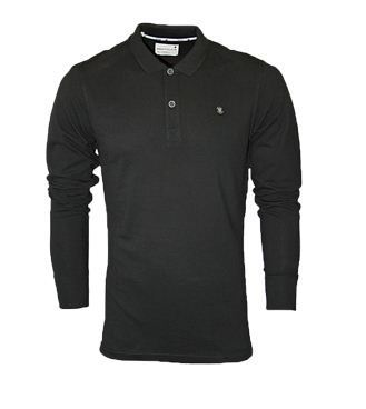 63ca81d7a79 Black Full Hand Polo T Shirt at Rs 569