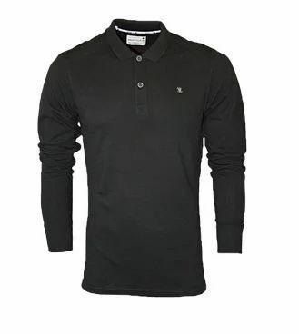 Black Full Hand Polo T Shirt at Rs 569  939d12a0b5e2