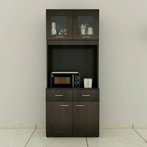 Wooden Microwave Storage Kitchen Cabinet