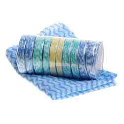 Non Woven Fabric Multicolor Premium Disposable Compressed Towels, Size: 12x18 Inches
