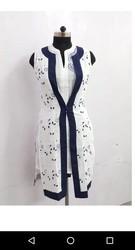 Ladies Cotton Embroidered Shrug