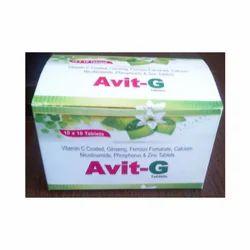Avit-G Tablet, Packaging Type: Box