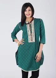 Designer Latest Styling Indo Western Short Tunic Kurti
