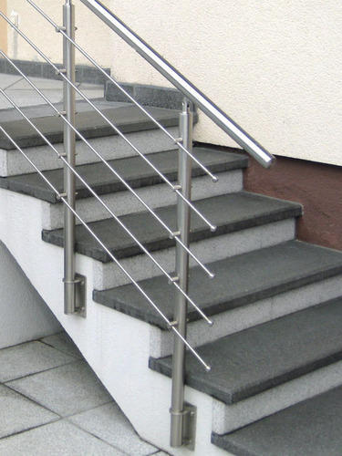 Panel SS Stainless Steel Baluster Railing, Rs 980 /foot ...