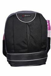 Black & Grey Laptop Backpack Bag