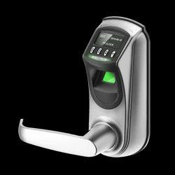 ZKTeco Lever Fingerprint Lock, Zinc Alloy, Biometric