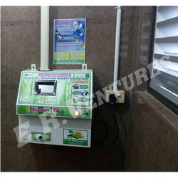 Sanitary Pad Disposal Machine for Ladies Toilets