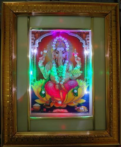 Ganesh 001 Photo Frame Led Light Photo Frame Billion Brand