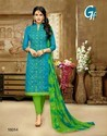 Bule Burry Cotton Salwar Suit