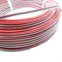 Red Industrial Electric Cable, Packaging Type: Box