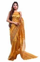 Designer Handloom Saree with Blouse Piece