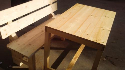 Hotel Table And Benches Wholesale