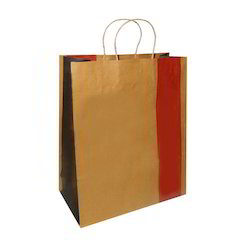Colored Paper Carry Bag