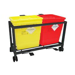 Waste Segregation Bins with MS Frame