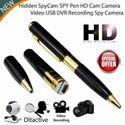 Black Hd Spy Pen Hidden Camera (high Quality)