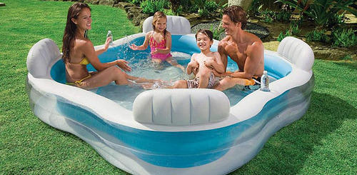 Intex Swim Center Family Lounge Pool 56475 Hawa Wala Tal Utkarsh