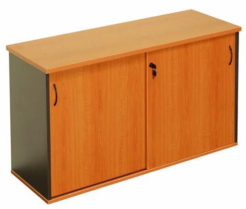 Gentil Wooden Low Height Storage Cabinets