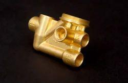 Brass Three Way Diverter