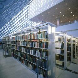 library racks - Library Bookshelves