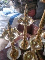 Brass Arti Stand