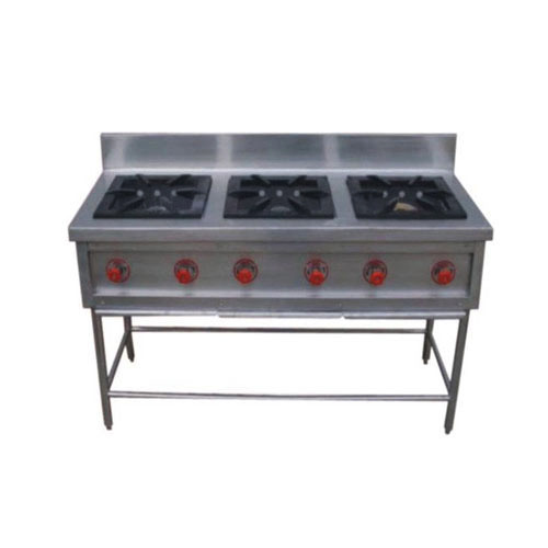 Commercial Cooking Range - 3 Burner Cooking Range ...
