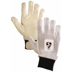 Strap White SG Test Wicket Keeping Inner Gloves, For Sports, Size: 22 cm