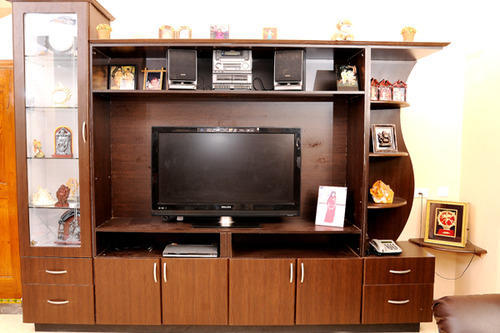 Wooden Tv Showcase At Rs 750 Square Feet लकड क टव