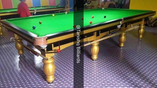 Solid Wood Billiards Table In Italian Slates Rs Set ID - Italian pool table
