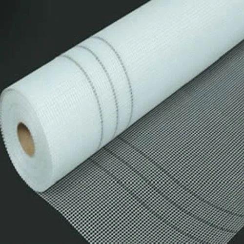 White Fiberglass Mesh : White fiberglass cloth mesh rs square meter om