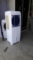 Tower Long Cooler With Exhaust Fan