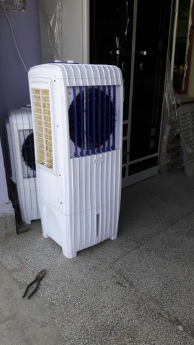 Plastic Air Cooler Tower Long Cooler With Exhaust Fan