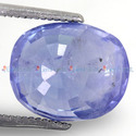 7.61 Carats Blue Sapphire