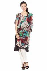 Designer Indo Western Party Wear Tunic Ladies Kurti