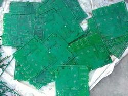 ELECTRONIC PCB SCRAP PLATES FOR COPPER RECOVERY AND FOR MAKING PCB FIBER POWDER TO MAKE BOARDS.