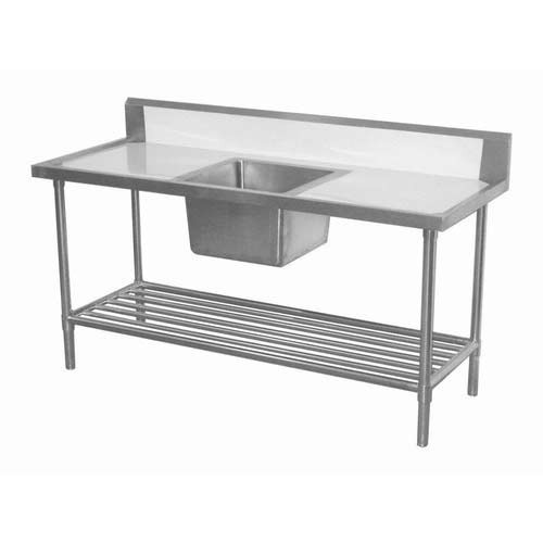 Stainless Steel Kitchen Table With Sink