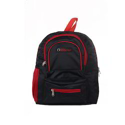Black & Red Small School Bag