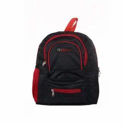 Black & Red Small School Bag