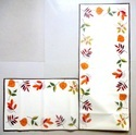 Fall Linen Table Runner