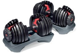 Rubber 6-Sided Bowflex Dumbbells, For Gym