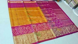 Handloom Sarees, Without Blouse Piece