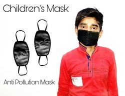 Reusable Children Anti Pollution Mask, Number of Layers: 3 Layers