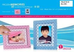 Frozen Memories 3D Photo Frame TAZ D23