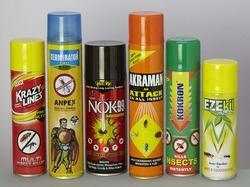 Insecticides Aerosol Cans