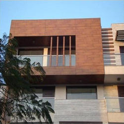 Wooden Cladding And Cladding Panel Facade Wooden