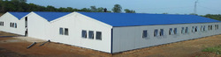 PVC Prefabricated Labor Colony