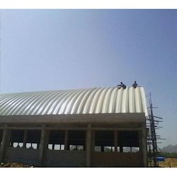 Standard Panel Build Roofing Shed
