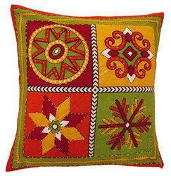 Hand Painted Decor Cushion Covers
