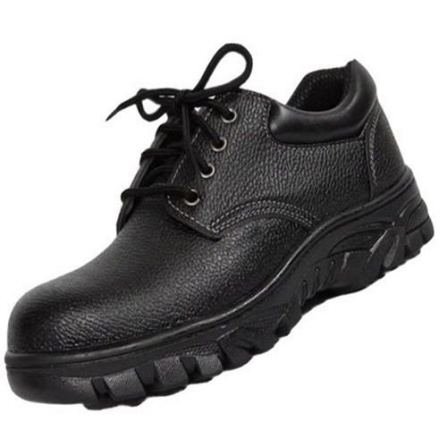 fcfccfd46dae02 Mallcom Black Leather Safety Shoes, Rs 950 /pair, Ambience Safety ...