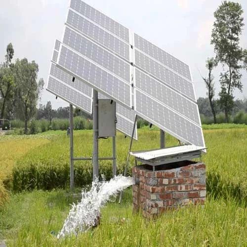 Solar Water Pump 2hp Solar Pumpset Solar Water Pump