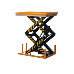 HD-Series Double Scissor Lift Table